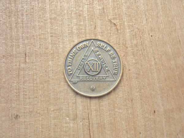Bronze mønt 12 år