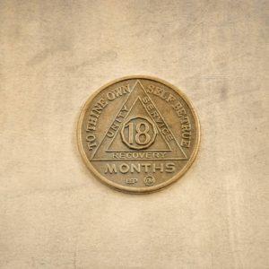Bronze mønt 18 måneder