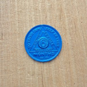 Alu mønt 6 måneder