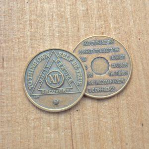 AA mønter