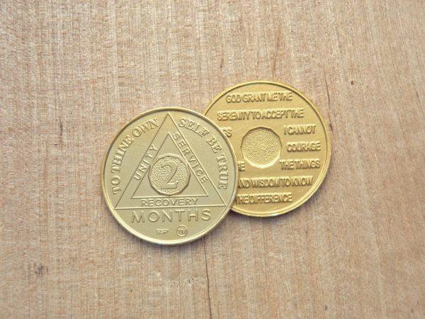 Alu mønt 2 måneder