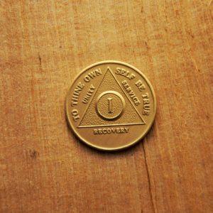 AA Bronze Mønt 1 år