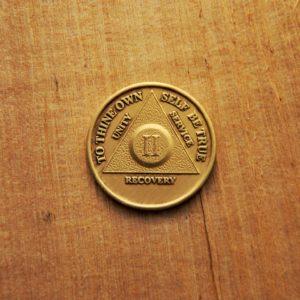 Bronze mønt 2 år (type 2)