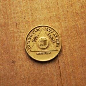 Bronze mønt 23 år