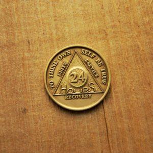 AA Bronze Mønt 24 timer