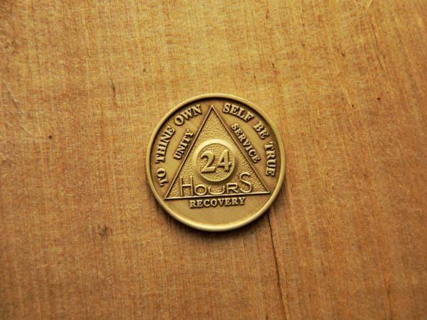 Bronze 24 timers mønt
