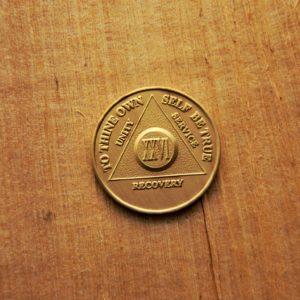 Bronze mønt 26 år