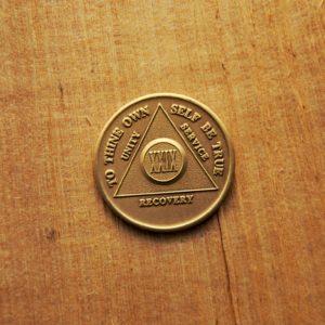 Bronze mønt 29 år