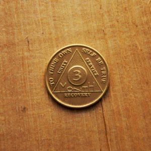 AA Bronze Mønt 3 måneder
