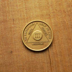 Bronze mønt 30 år