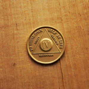 AA Bronze Mønt 4 år
