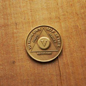 AA Bronze Mønt 5 år
