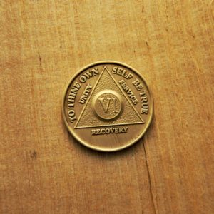 AA Bronze Mønt 6 år