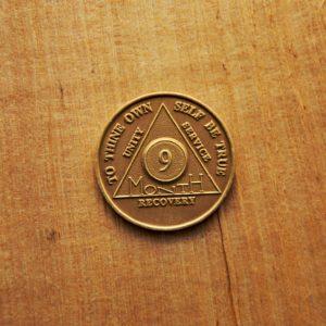 AA Bronze Mønt 9 måneder