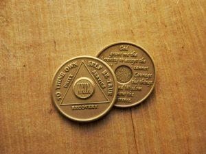 AA Bronze Mønter 29 år
