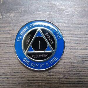 Tri-plate mønter til AA mærkedage