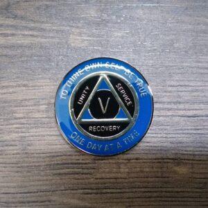 AA mønt 5 år, tri-plate